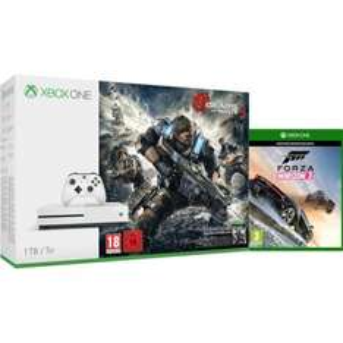 Xbox One S 1TB Console With Gears of War 4 & Forza Horizon 3 £269.99 @ Zavvi