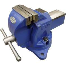 Irwin Record Workshop Vice with Swivel - 100mm 4in @ Homebase