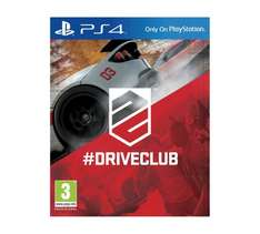 Driveclub PS4 Game £14.99 at Argos