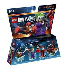 LEGO Dimensions: Team Pack DC Joker/Harley £15.19 PRIME / £17.18 Non Prime @ Amazon