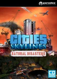 Cities: Skylines Natural Disasters DLC £8.99 @ CDKeys.com (RRP £10.99)