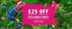 £25 off when you spend £50 pound (with code) +double points for members+ Free Del on orders over £25 +Quidco @ The Body Shop