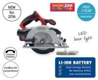 Titanium+ 18v Circular Saw with Laser and 3.0ah battery reduced to £39.99 from £69.99 @ Aldi