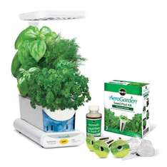 [Lightning deal] Miracle-Gro AeroGarden sprout LED with gourmet herb seed pod kit (white) for £29.99 down from £69.95 @ Amazon