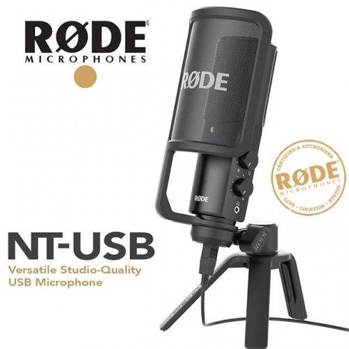 Rode NT-USB Microphone @Amazon (Lightning Deal)
