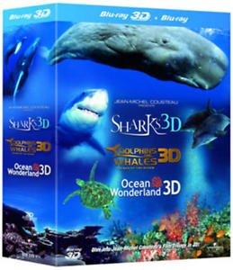 Jean-Michel Cousteau's Film Trilogy in 3D (3D Edition) [Blu-ray] £5 @ Zoomonline/eBay