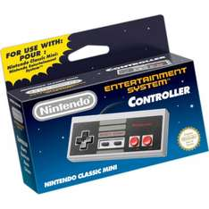 Nintendo Classic Mini: NES Controller @ Nintendo Official UK Store (Free delivery on orders over £20)