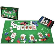 ProPoker Texas hold em Poker set - everything you need was £14.99 now £7.49 @ Argos