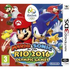 Mario & Sonic at the Rio 2016 Olympic Games 3DS £19.95 Delivered @ The Game Collection