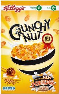 Kellogg's Crunchy Nut Corn Flakes Cereal (500g) ONLY £1.50 @ Iceland