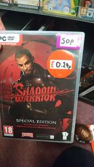 Shadow Warrior Special Edition (PC) 24p IN-STORE in Game