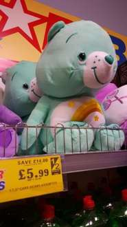 """Care Bears 17.5"""" £5.99 instore @ home bargains"""