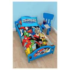 DC Superfriends Toddler Bed - Was £90 Now £35 with code (free C&C) @ Tesco Direct