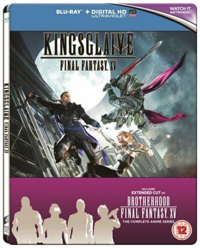 Kingsglaive: Final Fantasy XV (Steel Book) [Blu-ray] £19 @ Zoom