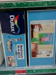 Dulux Bedroom in a Box - With Walltastic Mural - Peppa Pig £10 Sainsburys Instore