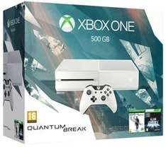 White Xbox One 500GB with Quantum Break and Alan Wake £169.99 Game