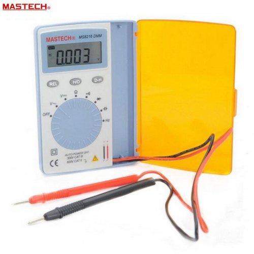 MASTECH MS8216 pocket Digital Multimeter data hold 4000 Counts Autoranging LCD AC/DC Voltage DMM Tester £10 @  Store: BZG Electronics Co,.Ltd / Aliexpress.com