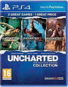 Uncharted: The Nathan Drake Collection (PS4) £13.49 Delivered @ GAME (Pre Owned)