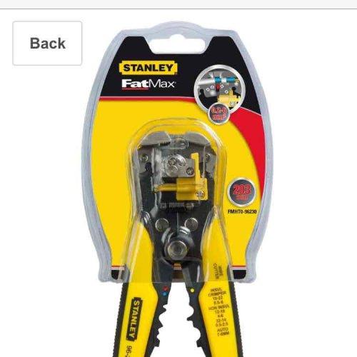 fat max wire stripper £10.99 (Prime) / £14.98 (non Prime) at Amazon