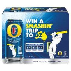 Fosters Lager 20x440 cans £10.00 @ asda