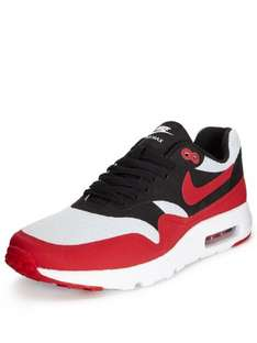 Nike Air Max 1 Ultra Reduced from £100 to £60 But you pay £35 with Code KH3T3 (select accounts only) at Very.Co.UK Free Delivery with Click & Collect