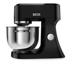 Tower T12010 Die Cast Stand Mixer, 1200 W, 4.5 L - Black was £149 now £100 @ Amazon