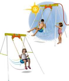 Childrens water spray garden swing £12.50 delivered with code from weeklydeals4less