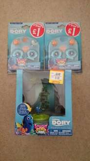 Finding Dory: Aquarium, add-on variety packs £1 instore @ Smyths (Hull) and online/nationwide.