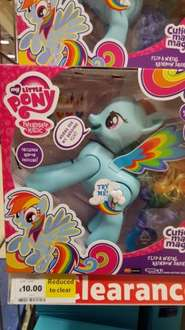 My Little Pony Rainbow Dash - £10 instore @ Tesco (Also in 3 for 2)