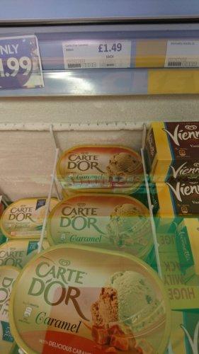 Carte Dor caramel and chocolate brownie @ heron foods - £1.49