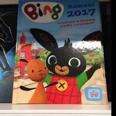 Bing 2017 annual 99p in Home Bargains