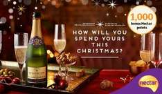 1,000 bonus Nectar points to help with your big christmas shop from Sainsburys  ( Invite Only )