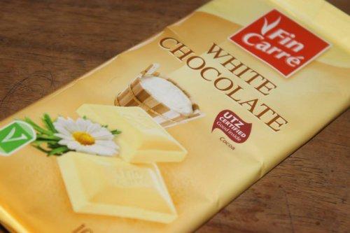 100g white chocolate 30p - LIDL