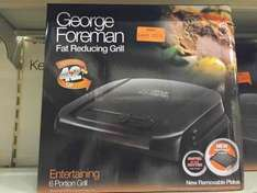 George Foreman 6 Portion Entertainment Grill - £20 instore @ Homebase