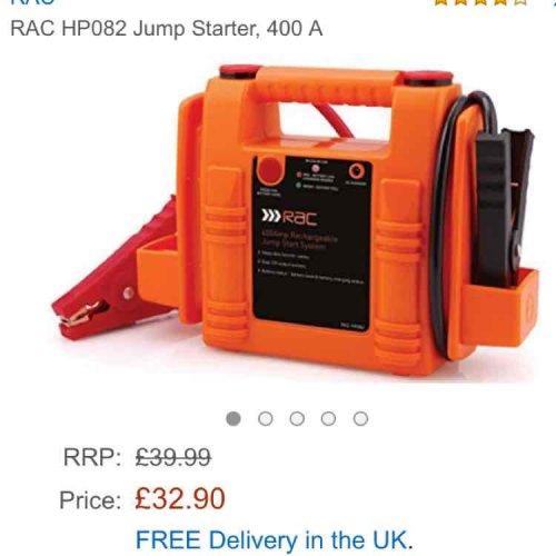 RAC Jump Starter - Amazon £32.90