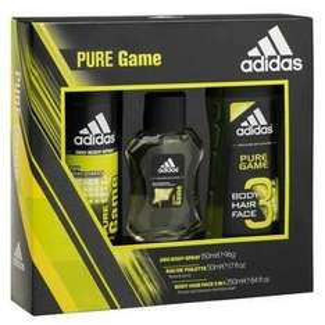 Adidas Pure Game Trio Body Spray, Shower Gel & EDT. £3.50 Superdrug.
