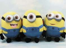 minion plush  are £2.22 each and 3 for 2 in tesco stores