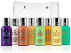 FREE luxury 9 pieces travel set when spent £50 at Molton Brown 10.45% cashback