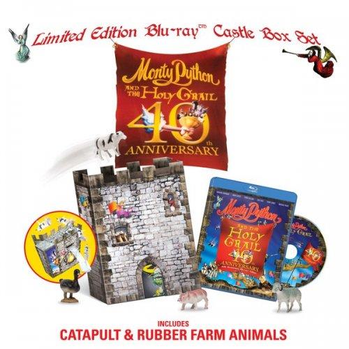 Monty Python & The Holy Grail 40th Anniversary Blu-Ray Gift Set £9.99 @ Zavvi