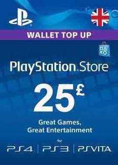 £25 PlayStation Network Card £20.93/ £35 for £29.91 @ Press Start