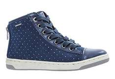 TK Maxx Geox Girls Blue Suede Hi-Top Trainers £19.99 instore / online (+£3.99 Del for orders under £50)