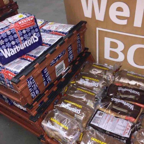 Warburtons Bread 20p each - Bookers Farnworth