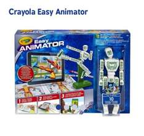 Crayola Easy Animator £7.99 intsore @ Home Bargains