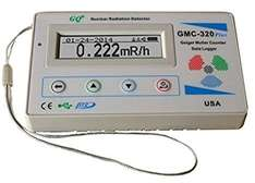 End Times Assistance - Geiger Counter GQ GMC-320-Plus  £94.00 Sold by GQ Electronics UK Europe and Fulfilled by Amazon