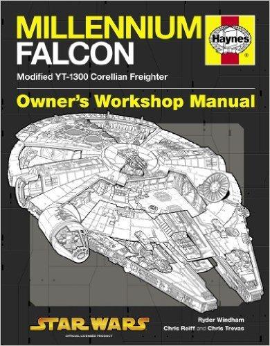 Millennium Falcon Haynes manual £3.99 Prime / £6.98 Non Prime @ Amazon