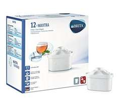 BRITA MAXTRA Water Filter Cartridges - Pack of 12 £23.99 on Amazon. Exclusively for Prime Members. BACK IN STOCK!