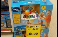 V Tech sit to stand music centre in store Tesco - £10