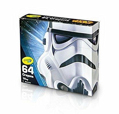 Crayola Star Wars Storm Trooper 64 Crayons £1.99 Instore Home Bargains