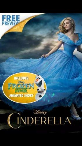 Cinderella (2015) Google Play £6.99 digital copy not DVD!