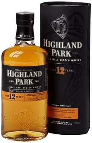 Highland Park 12 Year Malt Whisky Bottle, 70 cl £22.99 Amazon